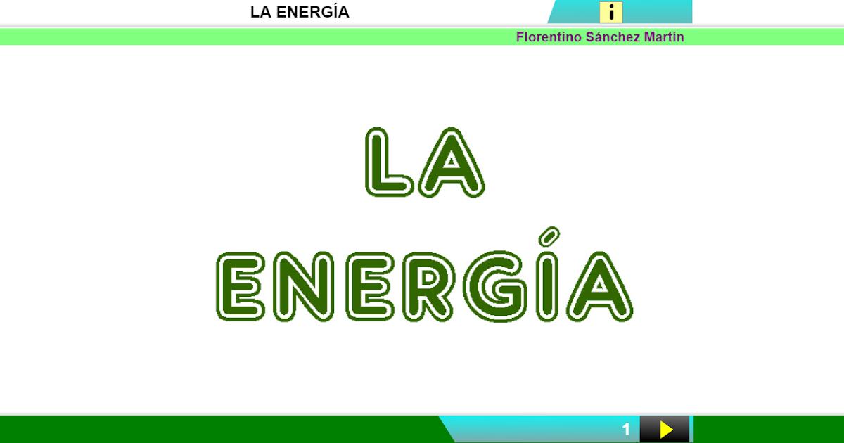 Resultado de imagen de la energía Ciencias 5º florentino
