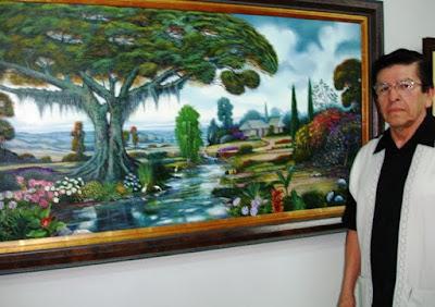 Jorge Jojoa  pintor de colombia