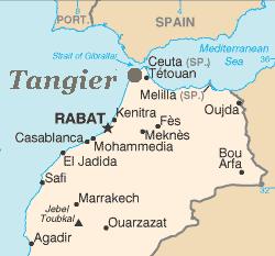 map tanger