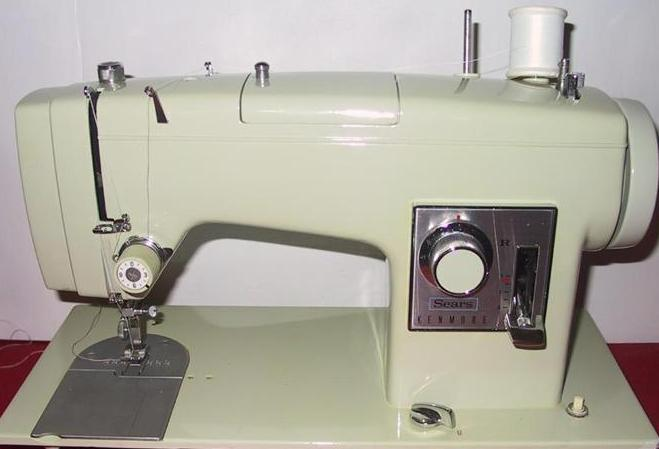 VINTAGE SEWING MACHINES SEARS KENMORE 4040 SEWING MACHINE Best Kenmore Sewing Machine Model 158