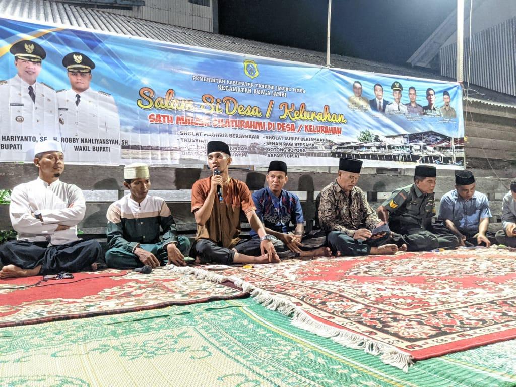 Kuala Jambi Luncurkan Program Perdana Salam Si Desa