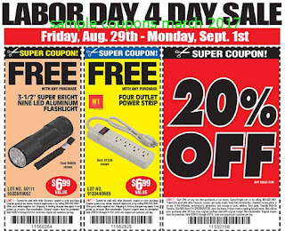 free Harbor Freight coupons for march 2017