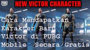 Cara Mendapatkan Karakter Baru Victor di PUBG Mobile  Secara Gratis