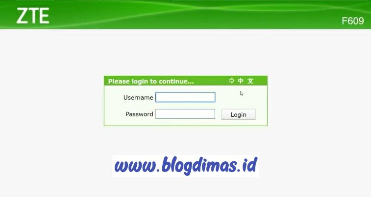 Mengganti Password Wifi ZTE