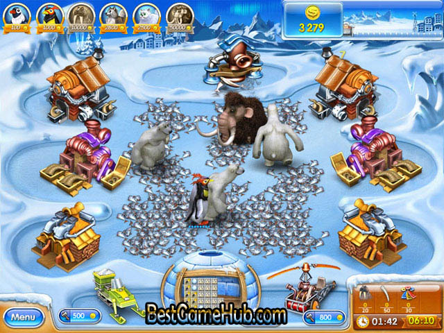 Farm Frenzy 3 Ice Age PC Repack Game Free Download