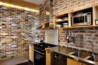 N Desain Contoh Gambar Wallpaper Dinding Rumah Minimalis Untuk Dapur