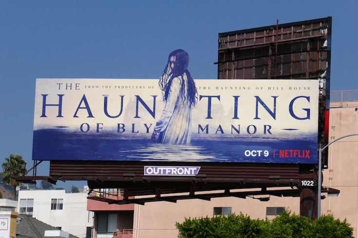 Haunting of Bly Manor extension cut-out billboard