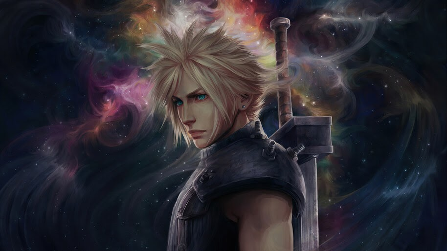Cloud Strife, Final Fantasy 7, Remake, 4K, #7.2071