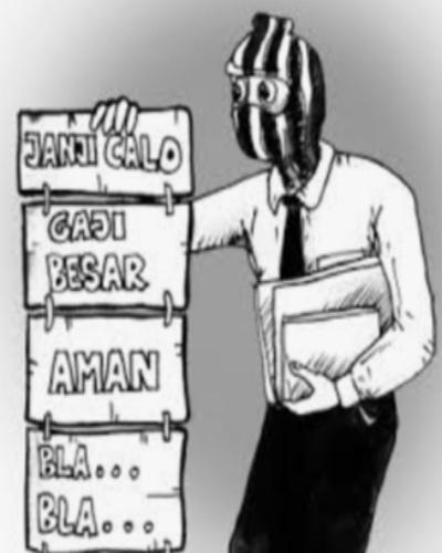 Soal Rekrutmen Fee di PT. PWI 2, Ada Dugaan Calo Titipkan Berkas Melalui Pemerintah Desa Julang