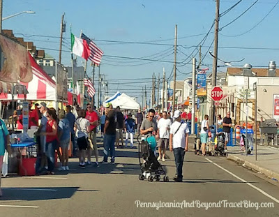 Italian American Festival in North Wildwood, New Jersey