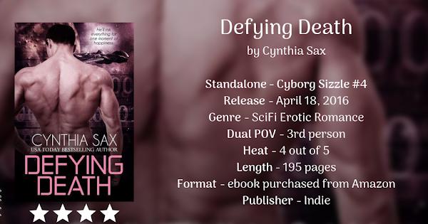 DEFYING DEATH by Cynthia Sax