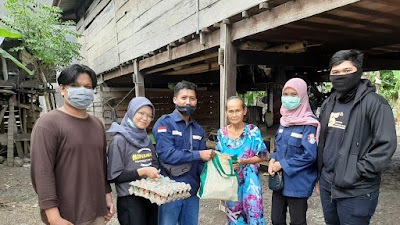 HIPERMAWA Komisariat Majauleng Adakan Bakti Sosial Peduli Masyarakat Saat Pandemi