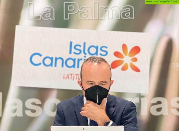 La Palma cierra Fitur incrementando la conectividad con la península para este verano