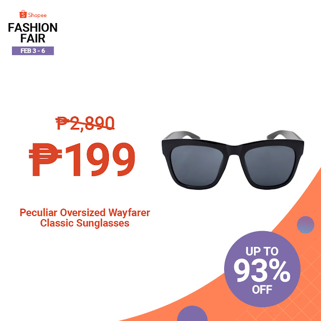 Unleash Your Inner Fashionista with Up to 90% off during  Shopee's Fashion Fair