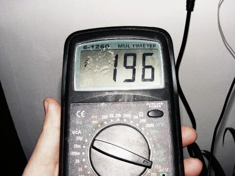 como probar un sensor hall con multimetro