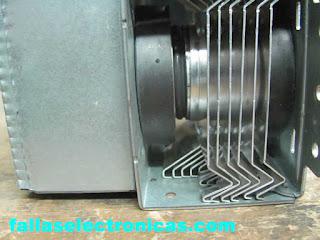 Reparación de magnetrón microondas