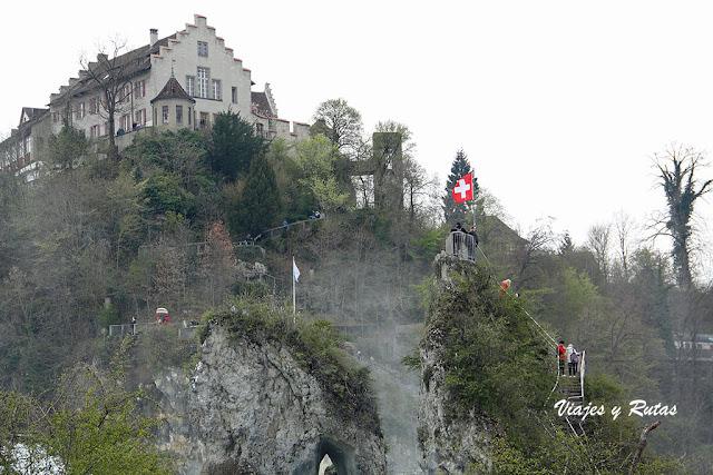 Rheinfallfelsen.
