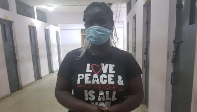 Violet Nekesa Wekesa, 32 house help in Mwiki photo