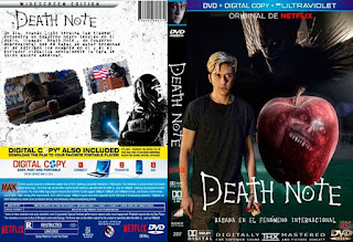 MaxCovers DVD - Gratis: Death Note 2017 dvd cover