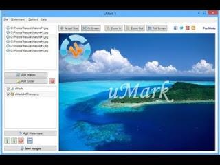 تثبيت وتفعيل برنامج ممتاز جداللحفاظ على صورك بعلامة مائية uMark 6 مع التفعيل
