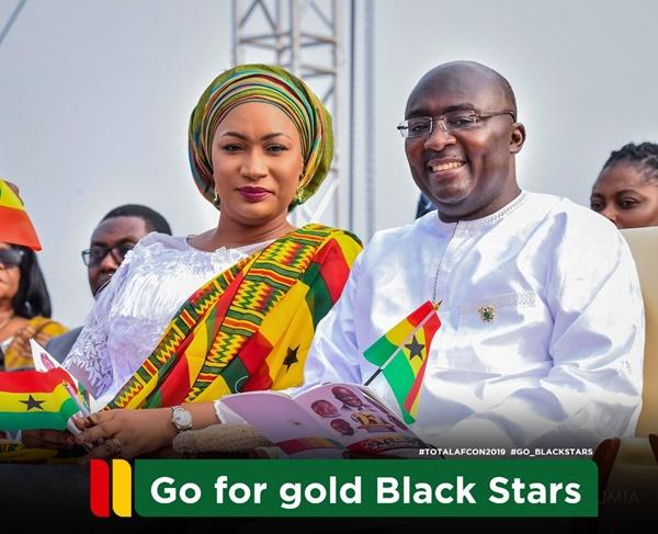 #AFCON2019: Go For Gold, #BlackStars – Dr. Mahamudu Bawumia