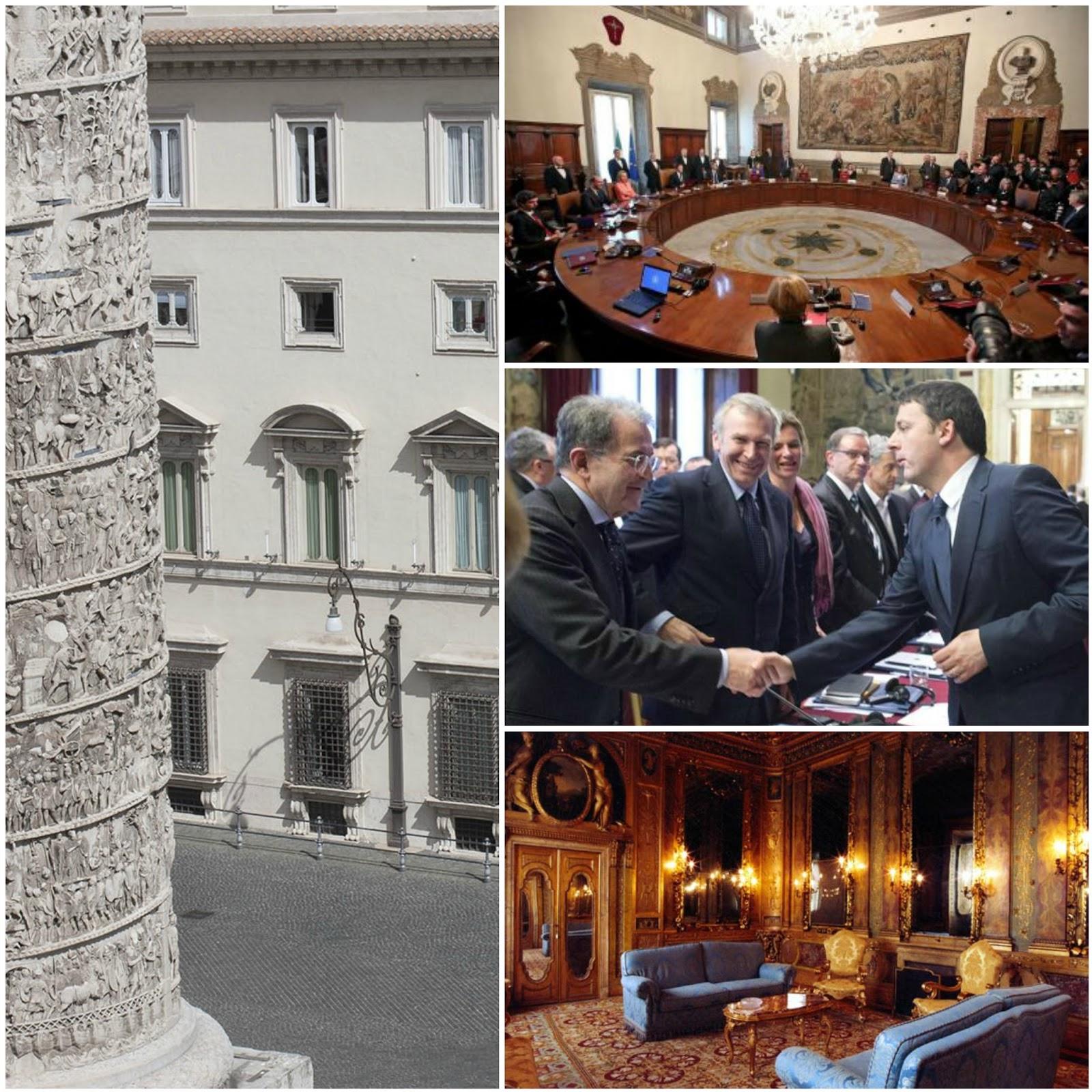 Palazzo Chigi e le sale della Presidenza del Consiglio visita guidata