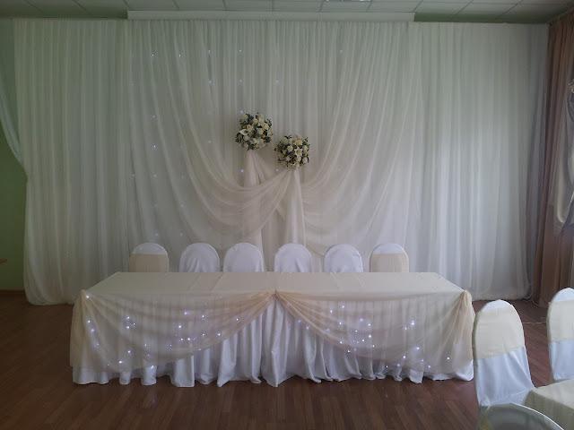Пример оформления свадеб