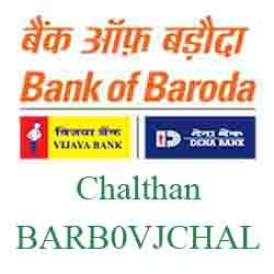 Vijaya Baroda Bank Chalthan Branch New IFSC, MICR