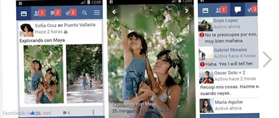 dos cuentas de facebook de forma simultanea desde un móvil