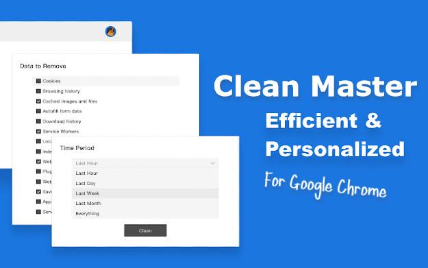Clean Master - Ένα απίστευτο πρόσθετο για να κάνεις «γρηγορότερο» τον Google Chrome