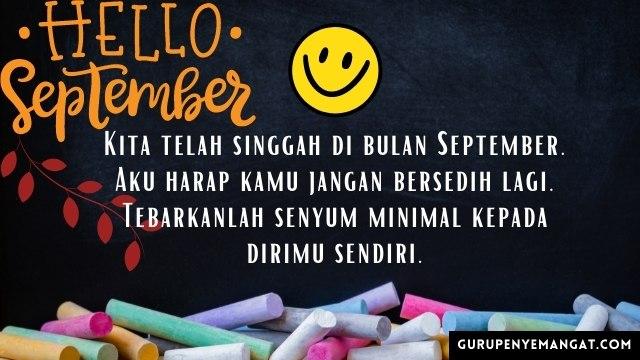 Qoutes Bulan September Ajakan untuk Tersenyum