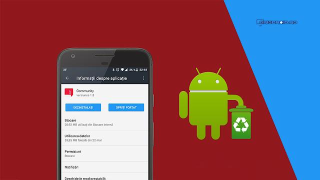 Cum dezinstalezi aplicațiile preinstalate și nedorite de pe un telefon Android