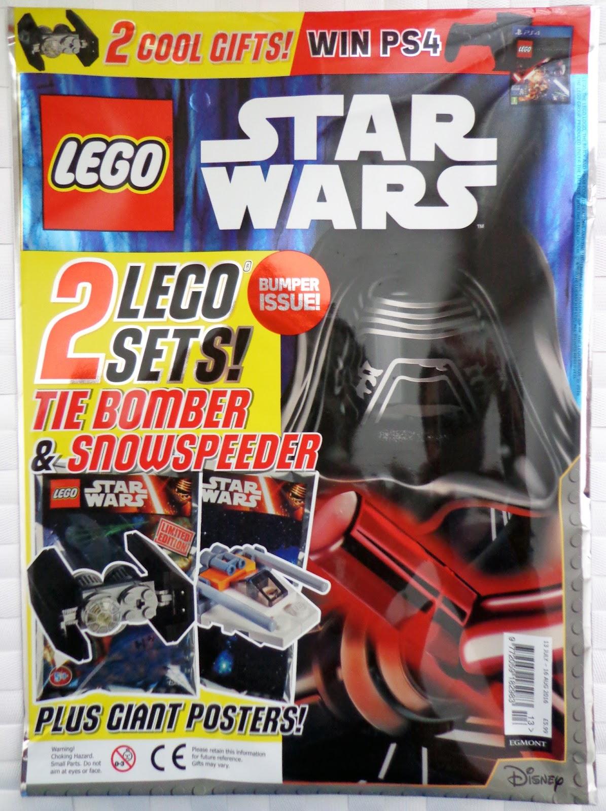 brickednexus lego star wars magazines. Black Bedroom Furniture Sets. Home Design Ideas