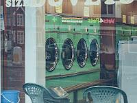 My Neighbor's laundry service business