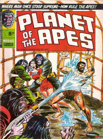 Marvel UK Planet of the Apes #6