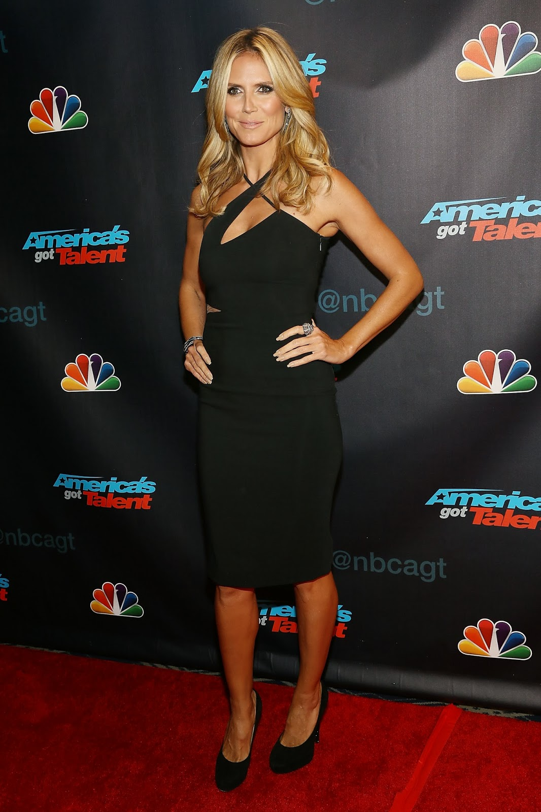 Heidi Klum Heidi Klum At America S Got Talent Season 8