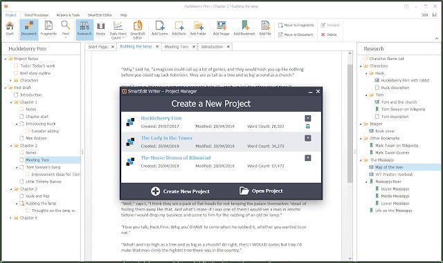 Smart Edit Writer Screenshot