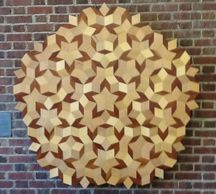 The Mathematical Tourist Crafting A Penrose Tiling