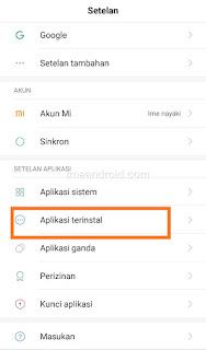 Pengaturan notifikasi whatsapp