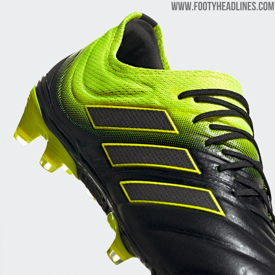 e2e8a6c9a The new Adidas Copa 19.1 boots, from the Exhibit Pack, introduce a very  vibrant and eye-catching look. They were debuted by Mats Hummels in  yesterday's ...