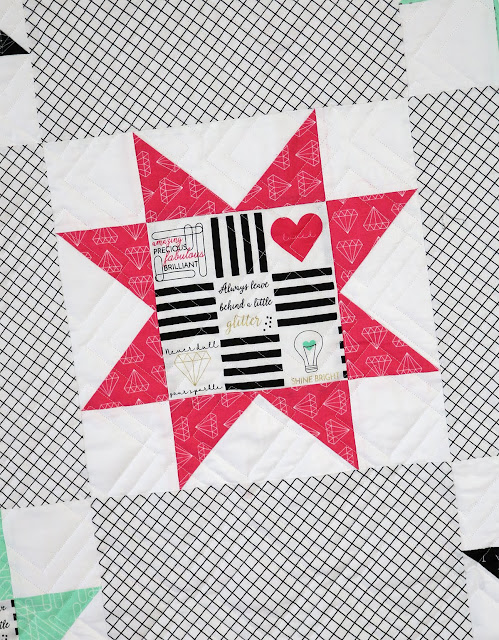Shine Bright Star Quilt by Andy of A Bright Corner