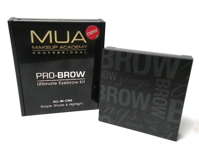 A picture of Benefit Browzings and MUA Pro-Brow Ultimate Eyebrow Kit