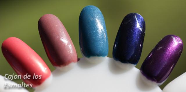 esmaltes de uñas avon colortrend invierno