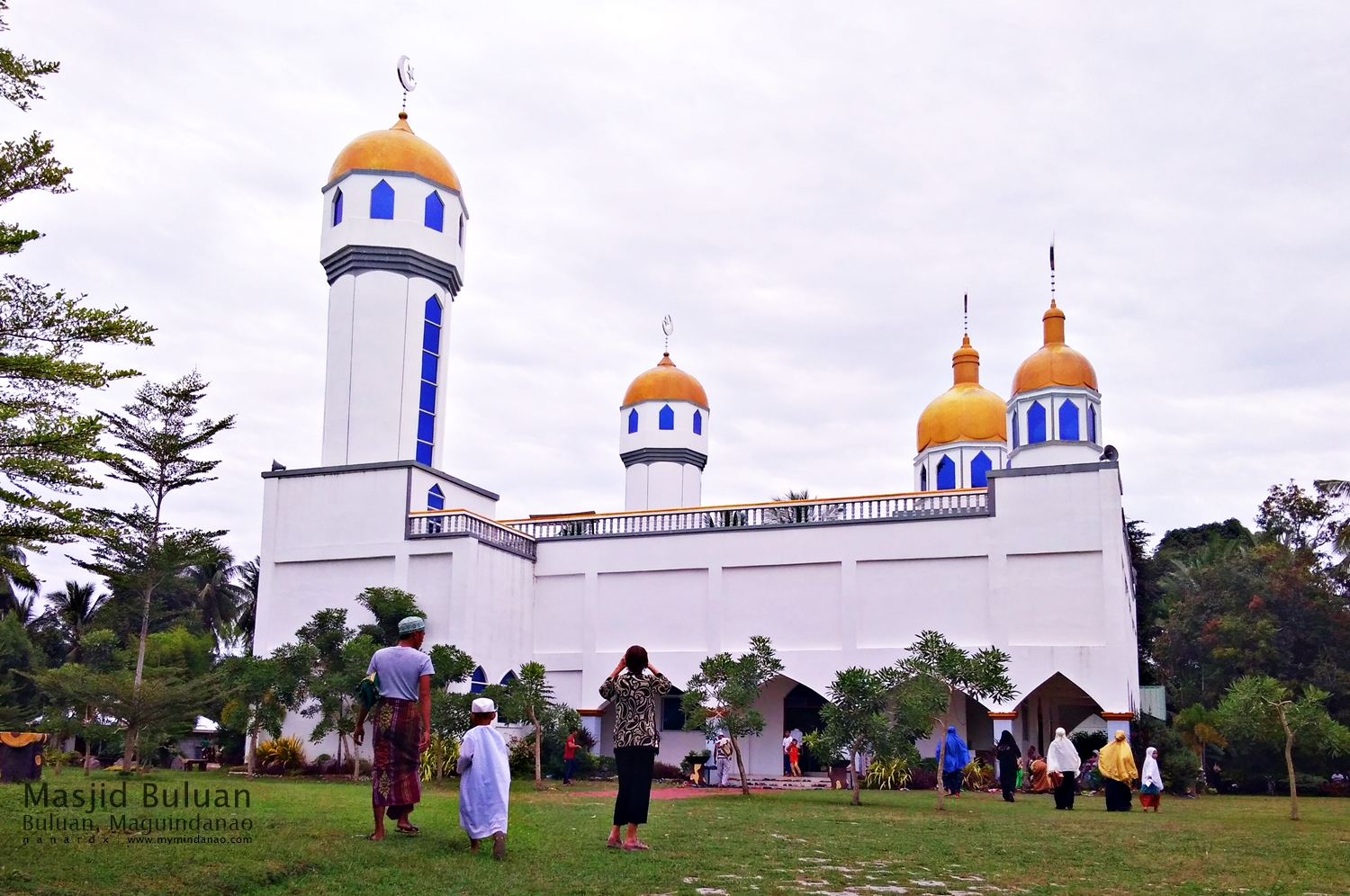 Masjid Buluan, the biggest mosque in Buluan, Maguindanao