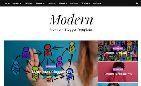 Modern Premium Blogger Template