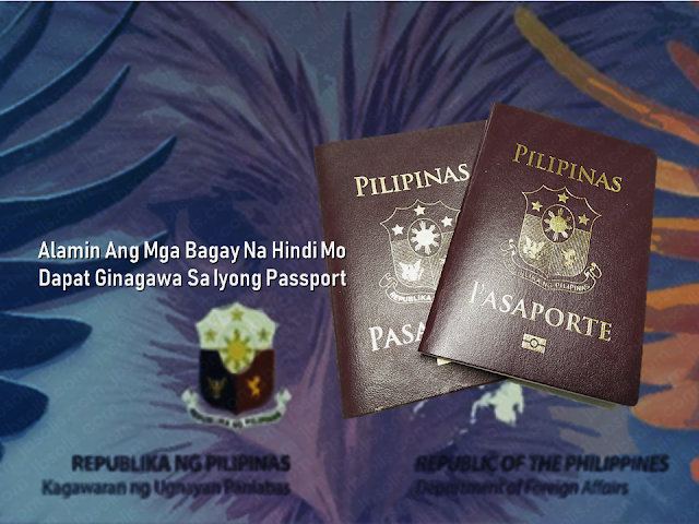 The passport is the most important document for the overseas Filipino workers (OFW) and even for the Filipinos who frequently travel outside the country. We should take good care of it. It is not easy to acquire one, especially when even getting an online appointment is like passing through a needle hole although there is a special courtesy lane for OFWs which do not require an online appointment. After securing an appointment, you need to go through DFA passport processing and submit the needed documents.  The new electronic passport (E-passport) validity was extended to so you will be working with it for ten years unless the pages are already full of stamps. In that case, you may need to apply for a new one.        Advertisement  There are things that we should not do with our passport. Taking care of it has to be a way of life.    Do Not Abandon it You are given a maximum of six months to claim it or have it delivered to you, after applying for your Philippine passport. All unclaimed passports beyond that period are canceled automatically in compliance to Department Order No. 37-03. You would just be wasting time and money going through the process of preparing your documents, the actual application and paying for it if you would just abandon it.    Keep it out of children's reach!  A Chinese man was put on hold in Korea after his kid doodled on his passport. The man was preparing to go back to China when he found out that he had made a huge mistake by leaving his passport with his son who treated his passport as a sketchbook. If you let them vandalize your passport, it is not their fault.  Any unauthorized sketches and signature could render your passport invalid for travel.    Do Not Lose it When traveling regard your valid passport as the most essential thing which should be on top of your checklist together with your credit card, cash, and clothes.  immediately report the loss of your passport to the Consular Records Division of the Department of Foreign Affairs (DFA) if you're in the Philippines, or any Philippine consulate or embassy closest to you if you are abroad. You'll need to submit documents like an Affidavit of Loss and Police Report if your passport is still valid, and a photocopy of its first and last pages if available.        Advertisement     Do Not Deface It Another case that would render your passport invalid is getting it damaged, whether by getting wet, having a torn page or sustaining a hole and other markings. In this case, you may need to apply for a new for a passport with a notarized Affidavit of Mutilation attached. You also need to submit a photocopy of the first and last pages of your passport.    Do Not Paste or staple anything on it Do not paste or staple anything on the cover of your passport that may damage the electronic chip on it, or paste/staple printed visas and any stickers on its pages.       Do not pawn or use it as a collateral   A common practice used by Overseas Filipino Workers (OFW), although it is illegal, are passports being used as a loan collateral. Passports are government property and not your own. If you get caught using your passport to loan money from any individual, you can get your travel document canceled and it may affect your next passport applications.   This is filed under the category of DFA passport processing, 10 years passport validity, Electronic Passport, E-Passport, Getting Philippine Passport, passport validity, passport appointment,      Sponsored Links  Read More:  Questions And Answers About UAE Amnesty 2018    What is OWWA's Tulong Puso Program and How OFWs or Organizations Can Avail?     Where And How To Invest In Stocks In The Philippines    Do You Know That You Can Rate Your Recruitment Agency?    Find Out Which Country Has The Fastest Internet Speed Using This Interactive Map
