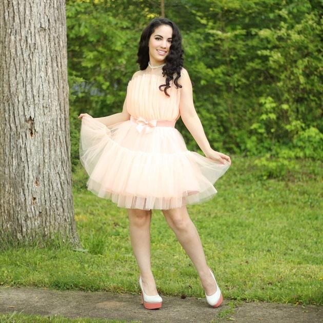 SHEIN Pink Tutu Dress