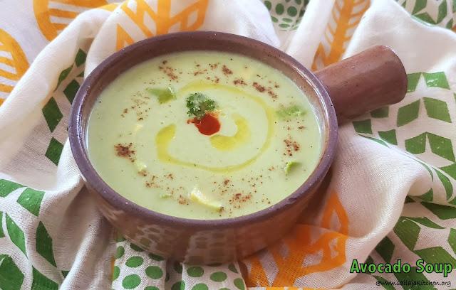 images of Avocado Soup Recipe / A Simple Avocado Soup Recipe - Soup Recipes