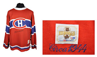 NHL CCM Heritage Jersey Collection - Montreal Canadiens Circa 1944