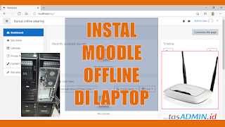 Cara Instal LMS Moodle Offline di Windows